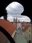 Stará Boleslav, view from St. Wenceslas