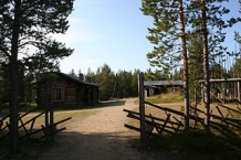 Open-air museum Siida in Inari, Finland