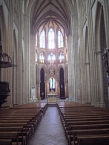 Bayonne, Nave of the cathedral
