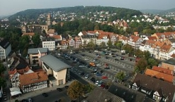 Bad Hersfeld, Marktplatz und Stiftsruine