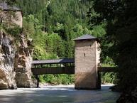 Die Innbrücke von (Alt-)Finstermünz