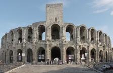 Arles, röm. Arena, von Nord