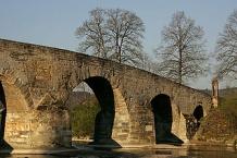 Historische Brücke über die Thur