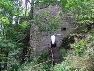 Großer Waldstein, Rotes Schloss