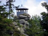 Großer Waldstein, Aussichtspavillon Schüssel