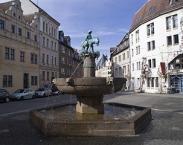 Halle, Alter Markt mit Eselsbrunnen