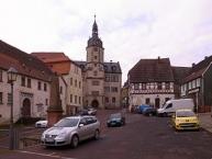 Wettiner Rathaus am Marktplatz