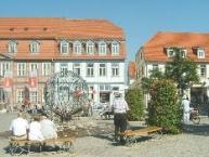 Marktplatz in Waren (Müritz)