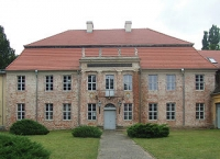 Herrenhaus Dannenwalde, Frontansicht