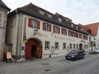 Hilpoltstein, Museum mit Brauereigasthof ʺZum Schwarzen Rossʺ an der Marktstraße