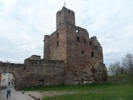 Burgruine über Hilpoltstein