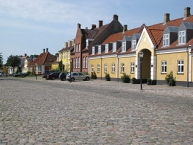 The square ʺTorvetʺ in the small town ʺPræstøʺ