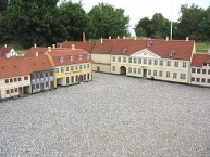 The miniature museum ʺKøge Minibyʺ in the town ʺKøgeʺ