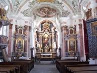 Innichen, Pfarrkirche zum Hl. Michael, Innenansicht
