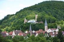 Gemünden mit Ruine Scherenburg