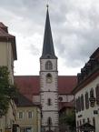 Katholische Stadtpfarrkirche in Hammelburg