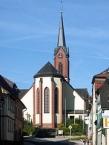 Die Kirche St. Johannes der Täufer in Euerdorf