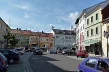Main square in Rohrbach Upper Austria