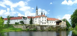 The Vyšší Brod Monastery