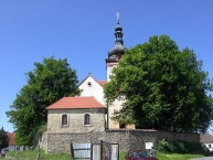 Church of St Gall in Neveklov