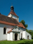 St. Lawrence Church in the village of Dírná