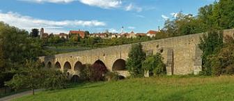 Tauberbrücke Rothenburg ob der Tauber
