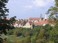 Rothenburg ob der Tauber, Panorama