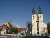 Herrieden, Stiftskirche St. Vitus und Kirche Unserer Lieben Frau