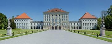 Schloss Nymphenburg, von der Parkseite