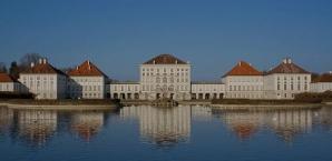 Schloss Nymphenburg, von der Stadtseite