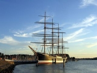 Travemünde, Museumsschiff Viermast-Stahlbark Passat
