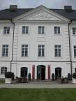 Herrenhaus Gr. Schwansee, Mittelrisalit Hofseite