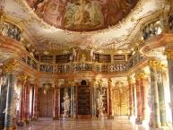 Kloster Wiblingen, Klosterbibliothek