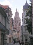 Mühlhausen, eine Altstadtgasse
