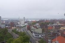 Hafen, vom Wasserturm aus gesehen/Habour, seen from the water tower
