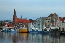 Häuserzeile am Hafen/harbour street