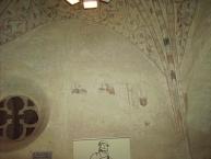 Mittelalterliche Kalkmalereien