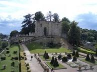 Le château de Langeais, ruine du donjon