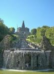 Schlosspark Wilhelmshöhe, Wasserspiele an den Kaskaden