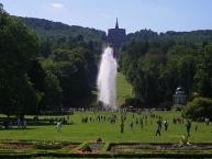Bergpark Wilhelmshöhe, Große Fontäne