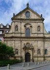 Bamberg, Karmelitenkloster, Fassade der Klosterkirche St. Maria und St. Theodor
