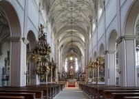 Bamberg, Kloster Michelsberg, Klosterkirche, Innenansicht