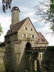 Altenburg, Eingang und Brücke über den Burggraben