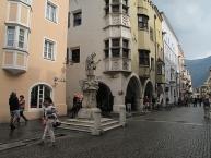 Sterzing, sculpture at the Neustadt