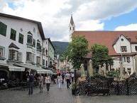 Sterzing, view to a street: die Neustadt