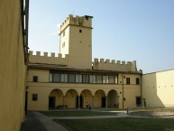Castello di torregalli, giardino murato
