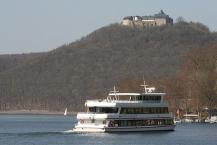 Schloss Waldeck vom Edersee