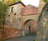 Schloss Waldeck, Eingang