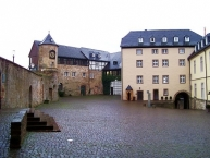 Schloss Waldeck, Innenhof