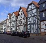 Frankenberg, Fachwerkhäuser am Pferdemarkt